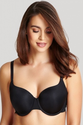 Panache Porcelain Elan Moulded T-shirt Bra - Black