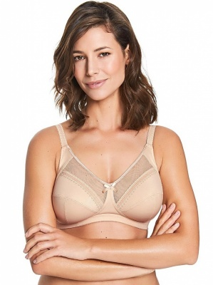 Royce Charlotte Non-Wired Support Bra - Skin