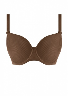 Freya Idol Moulded Balcony Bra - Coffee Roast