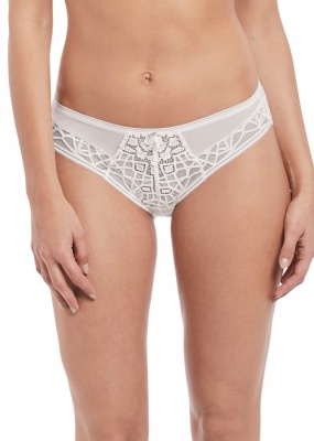 Freya Soiree Lace Brief - White