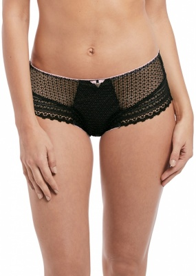 Freya Daisy Lace Short - Black