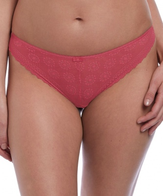 Freya Love Note Brazilian Brief - Rose