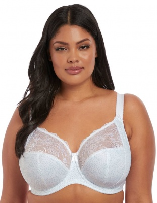Elomi Morgan Underwired Banded Bra - White