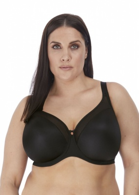 Elomi Smooth Underwired Moulded Bra - Black