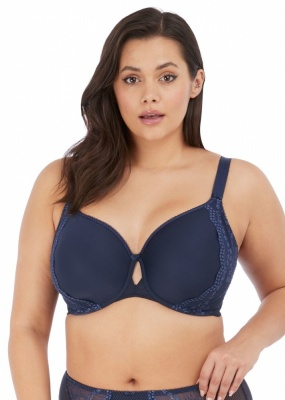 Elomi Charley Underwired Bandless Spacer Bra - Navy