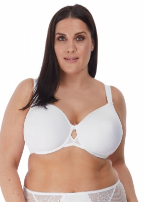 Elomi Charley Underwired Bandless Spacer Bra - White