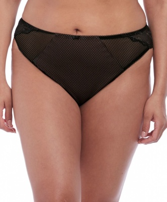 Elomi Charley Brazilian Brief - Black