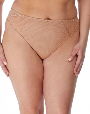 Elomi Charley Brazilian Brief - Fawn