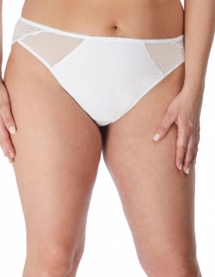 Elomi Charley Brazilian Brief - White