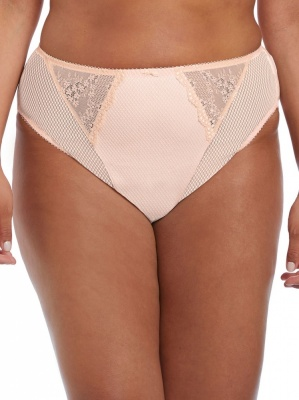 Elomi Charley High Leg Brief - Ballet Pink