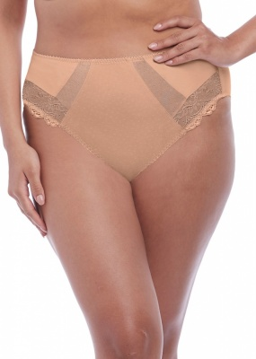 Elomi Meredith High Leg Brief - Sahara