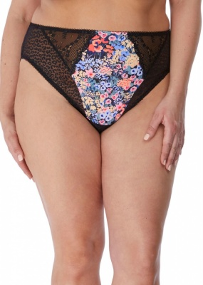 Elomi Lucie High Leg Brief - Meadow