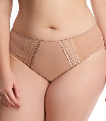 Elomi Matilda Brief - Cafe au Lait