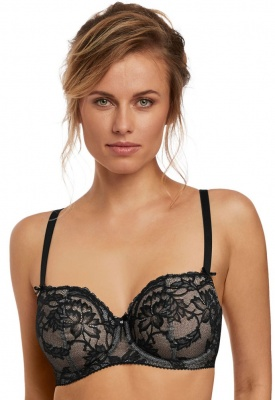 Fantasie Bronte Vertical Seam Bra - Black