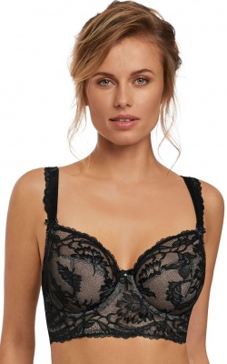 Fantasie Bronte UW Longline Side Support Bra - Black