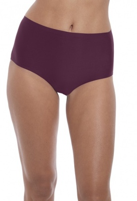 Fantasie Smoothease Invisible Stretch Full Brief - Black Cherry