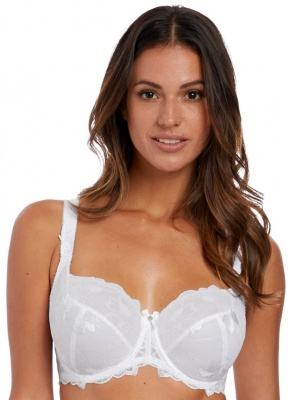 Fantasie Leona Underwired Balcony Bra - White