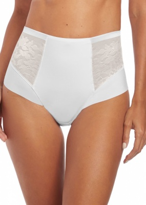 Fantasie Illusion High Waist Brief - White