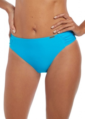 Fantasie Paradise Bay Mid Rise Gathered Bikini Brief - Aqua