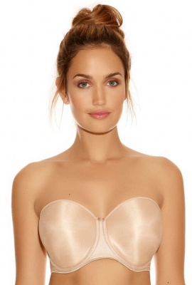 Fantasie Smoothing Strapless Bra - Nude