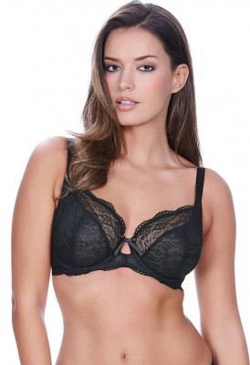 Freya Fancies Balcony Plunge Bra - Black