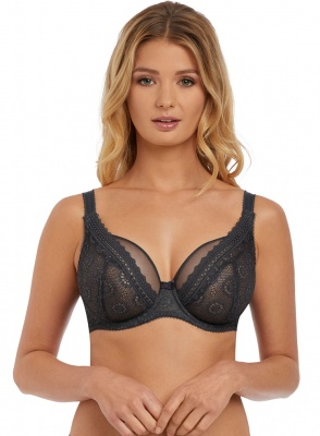 Freya Love Note High Apex Bra - Slate