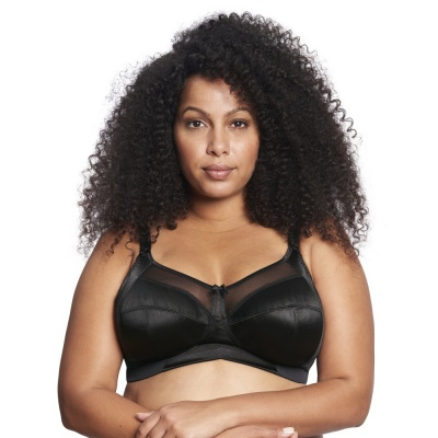 Goddess Keira Soft Cup Bra - Black