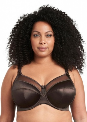 Goddess Keira Underwired Full Cup Bra - Chocolate