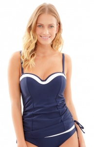 Panache Anya Cruise Moulded Bandeau Tankini Top