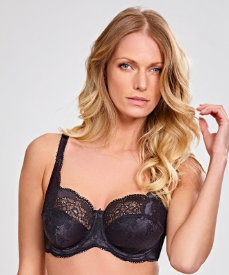 Panache Clara Underwired Bra - Black