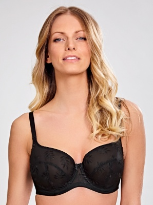 Panache Tango Underwired Balcony Bra - Black