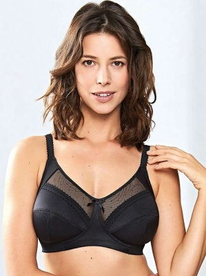Royce Charlotte Non-Wired Support Bra - Black