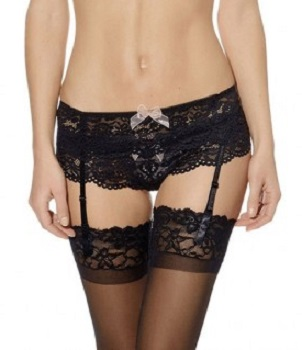 Ciao Bella Suspender Belt - Night