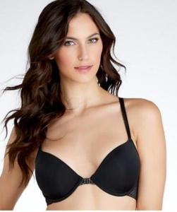B.Tempt'd Full Bloom Front Fastening T-shirt Bra - Black
