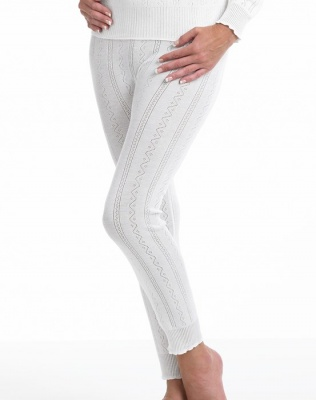 Brettles Fancy Knit Thermal Ankle Pant