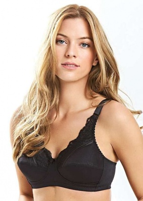 Royce Jasmine Non-Wired Support Bra - Black