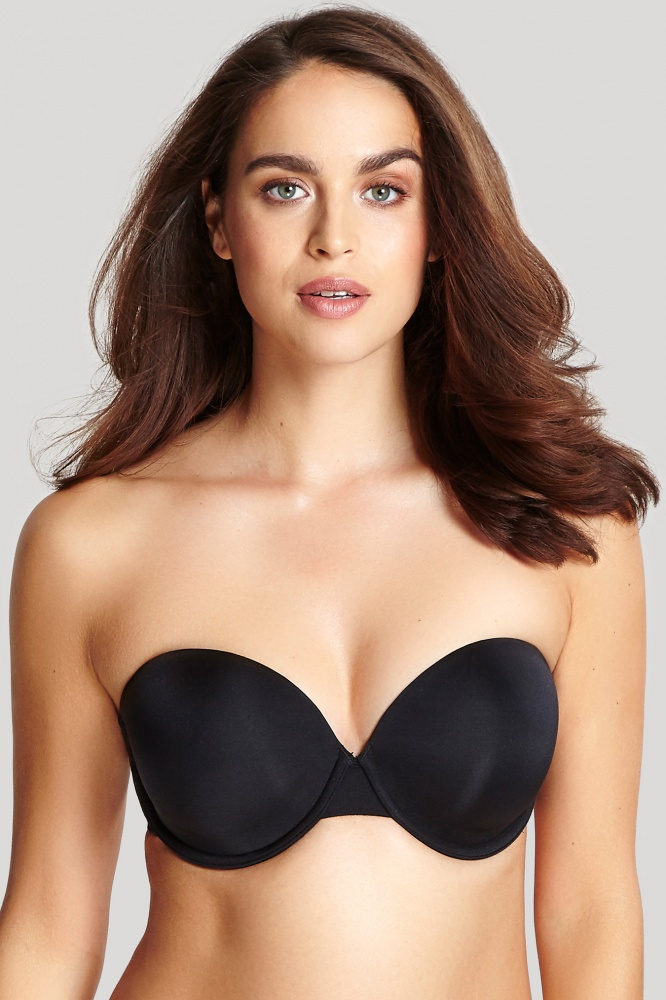 Panache Porcelain Elan Moulded Strapless Bra - Black