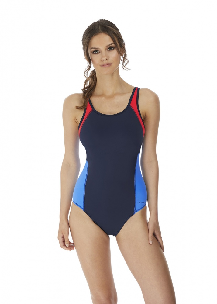 Freya Active Freestyle  Underwired Swimsuit - Navy Astral