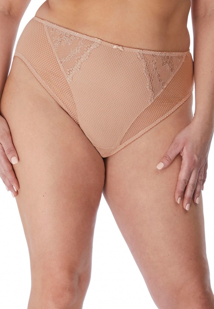 Elomi Charley High Leg Brief - Fawn