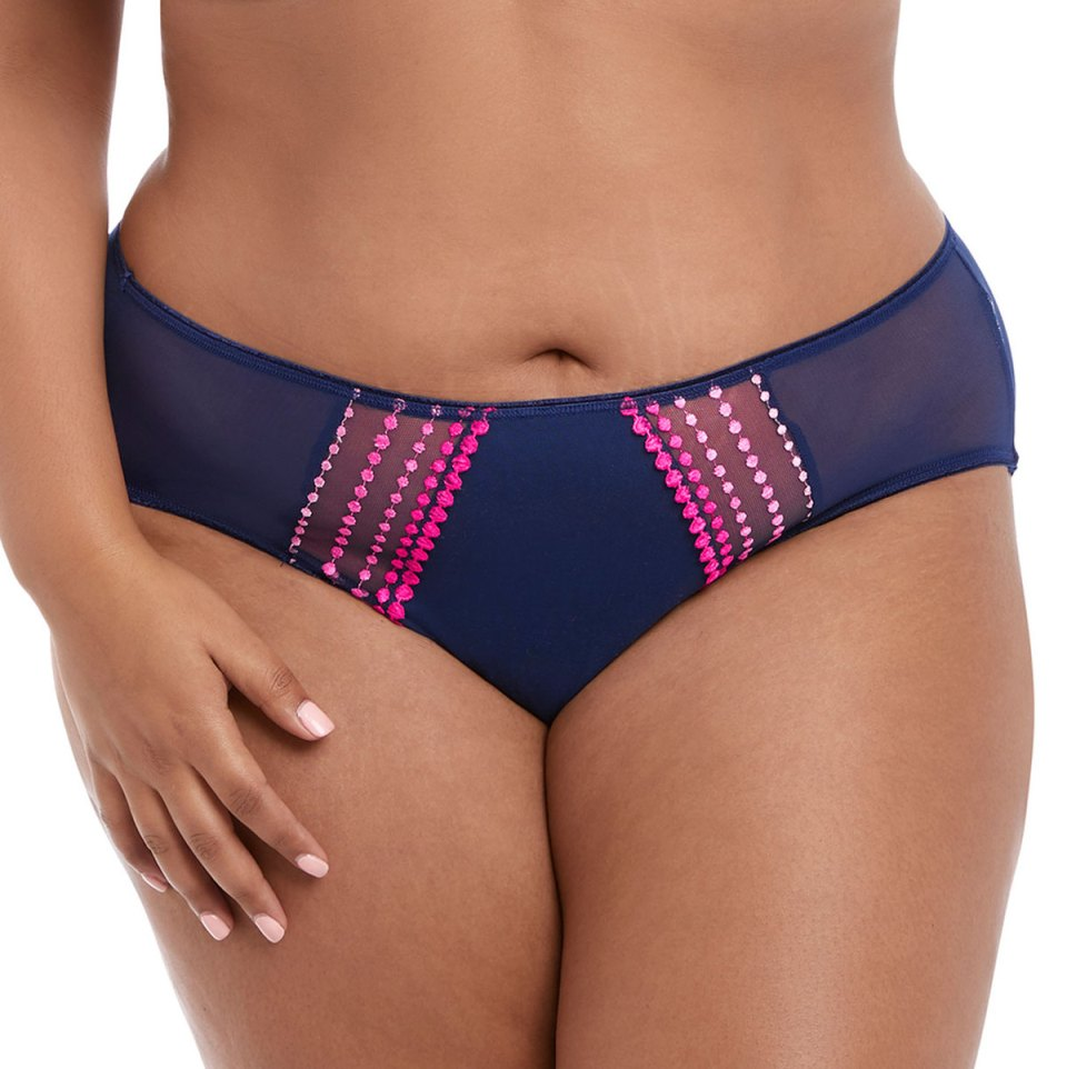 Elomi Matilda Brief - Navy - XL