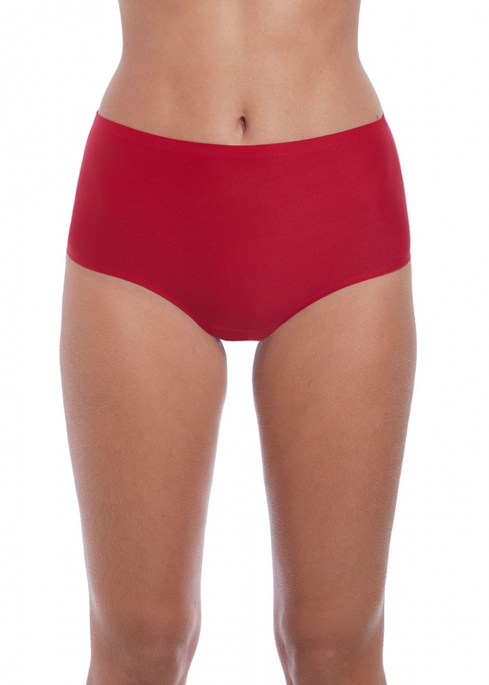 Fantasie Smoothease Invisible Stretch Full Brief - Red
