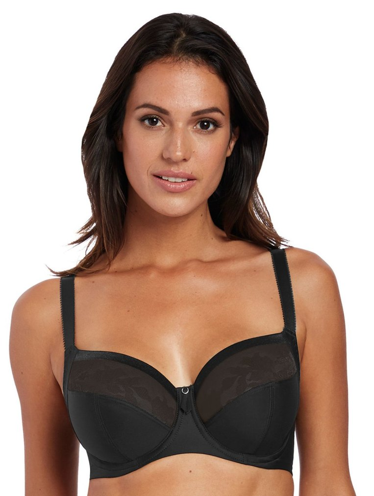 Fantasie Illusion Underwired Side Support Bra - Black