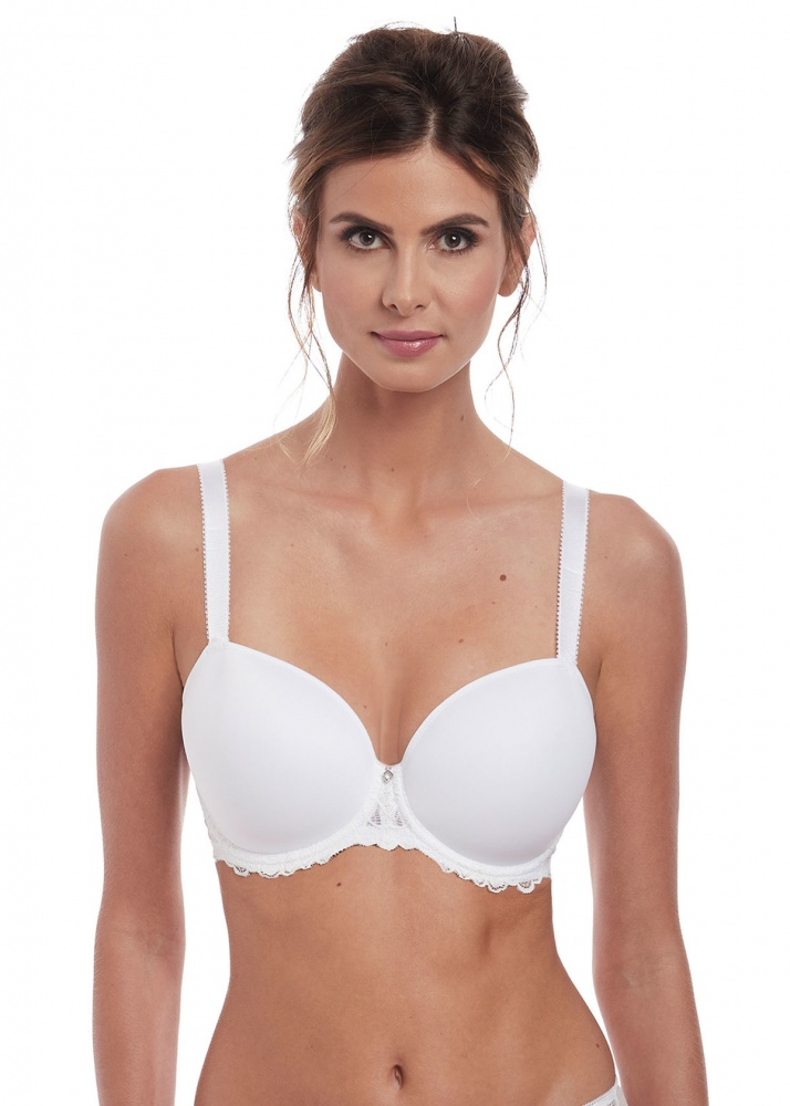 Fantasie Memoir Moulded T-Shirt Bra - White