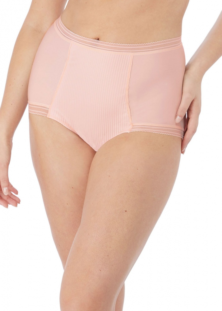 Fantasie Fusion High Waist Brief - Blush