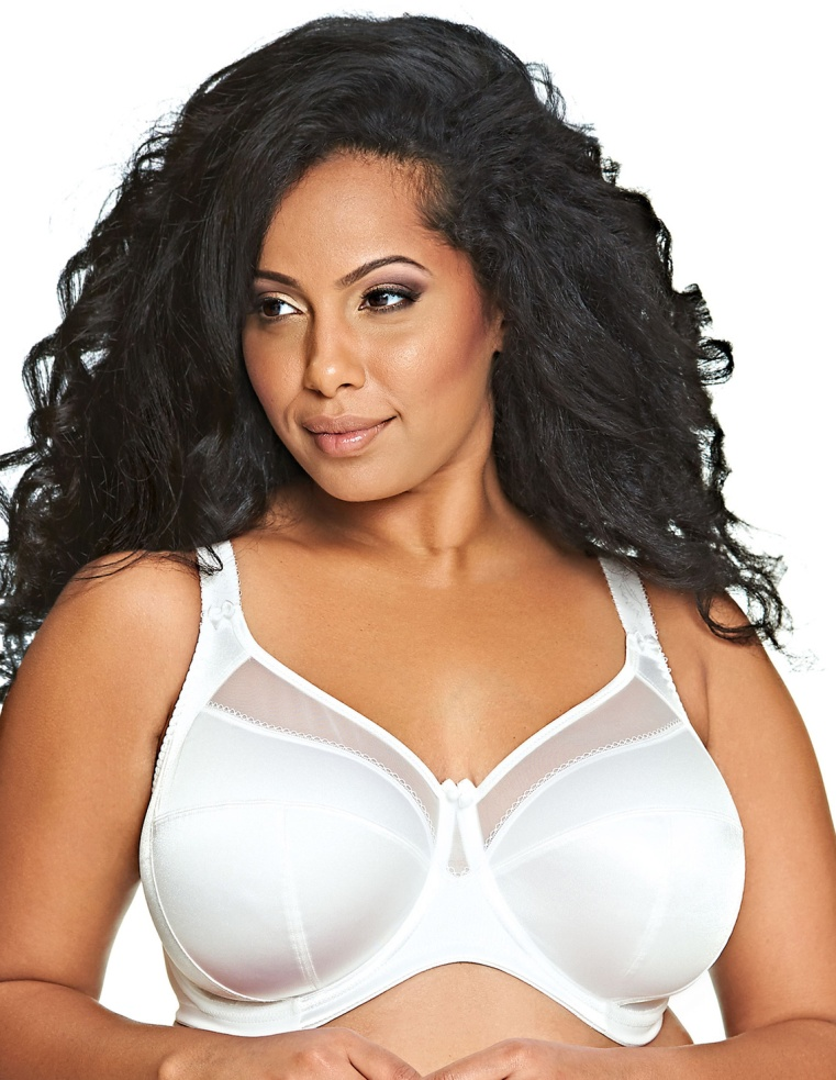Goddess Keira Underwired Full Cup Bra - White