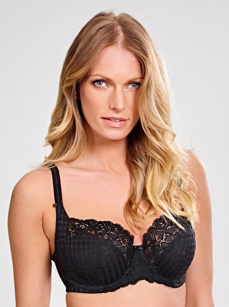 Panache Envy Balcony Bra - Black
