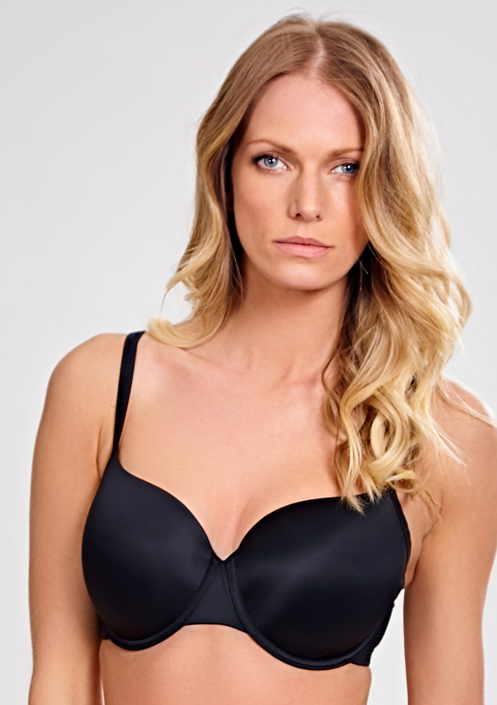 Panache Porcelain Moulded Bra - Black