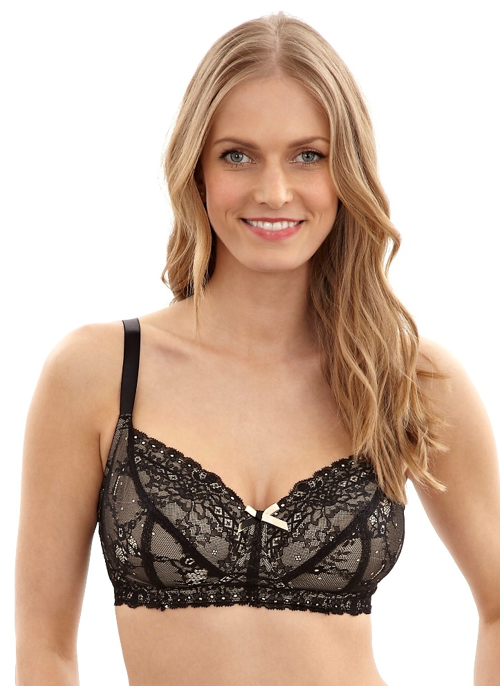 Panache Sophie Support Bra in Black