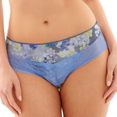 Panache Jasmine Brief - Blue Blossom